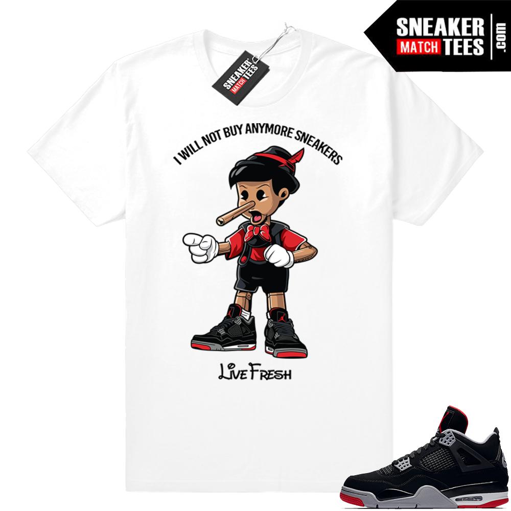 Jordan 4 Bred Shirts