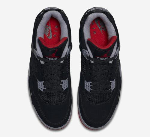 Jordan 4 Bred Sneaker Match