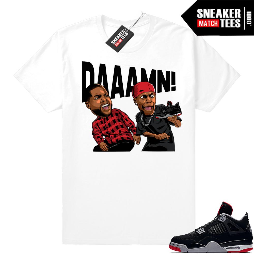 Jordan 4 Bred Sneaker outfits