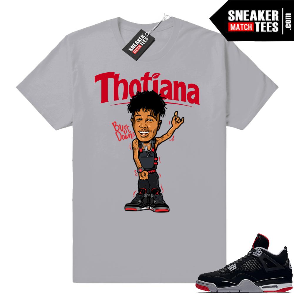 Jordan 4 Bred Thotiana T-shirt