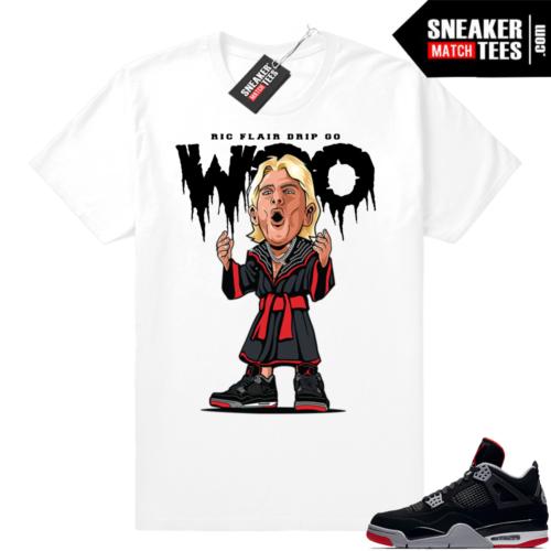 Jordan 4 Bred shirt match