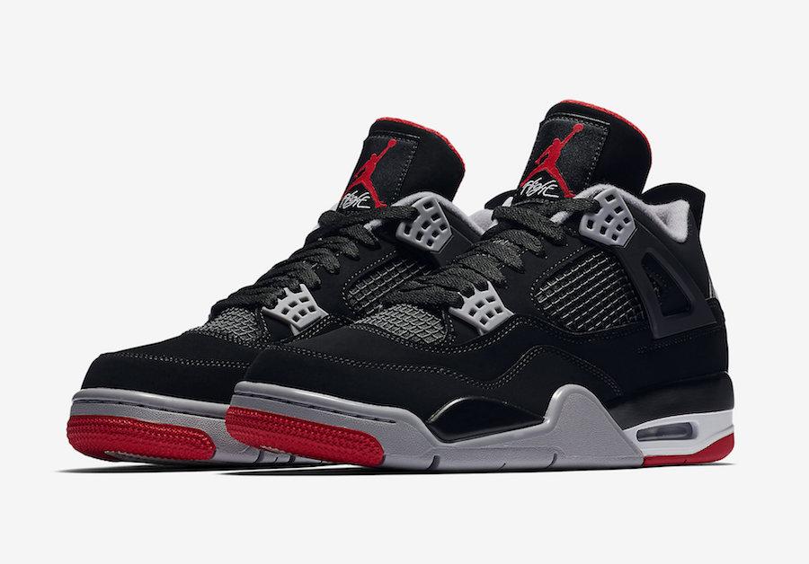 Jordan 4 Bred | Jordan Sneaker Match