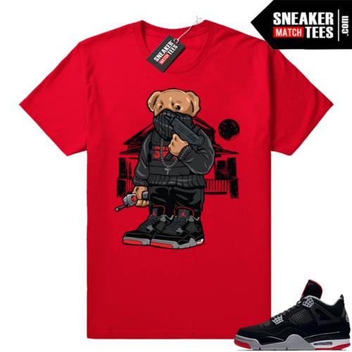 Jordan 4 sneaker tees match