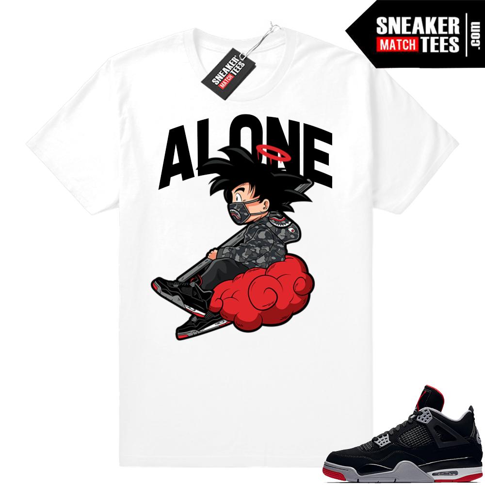 Jordan bred 4s sneaker tees