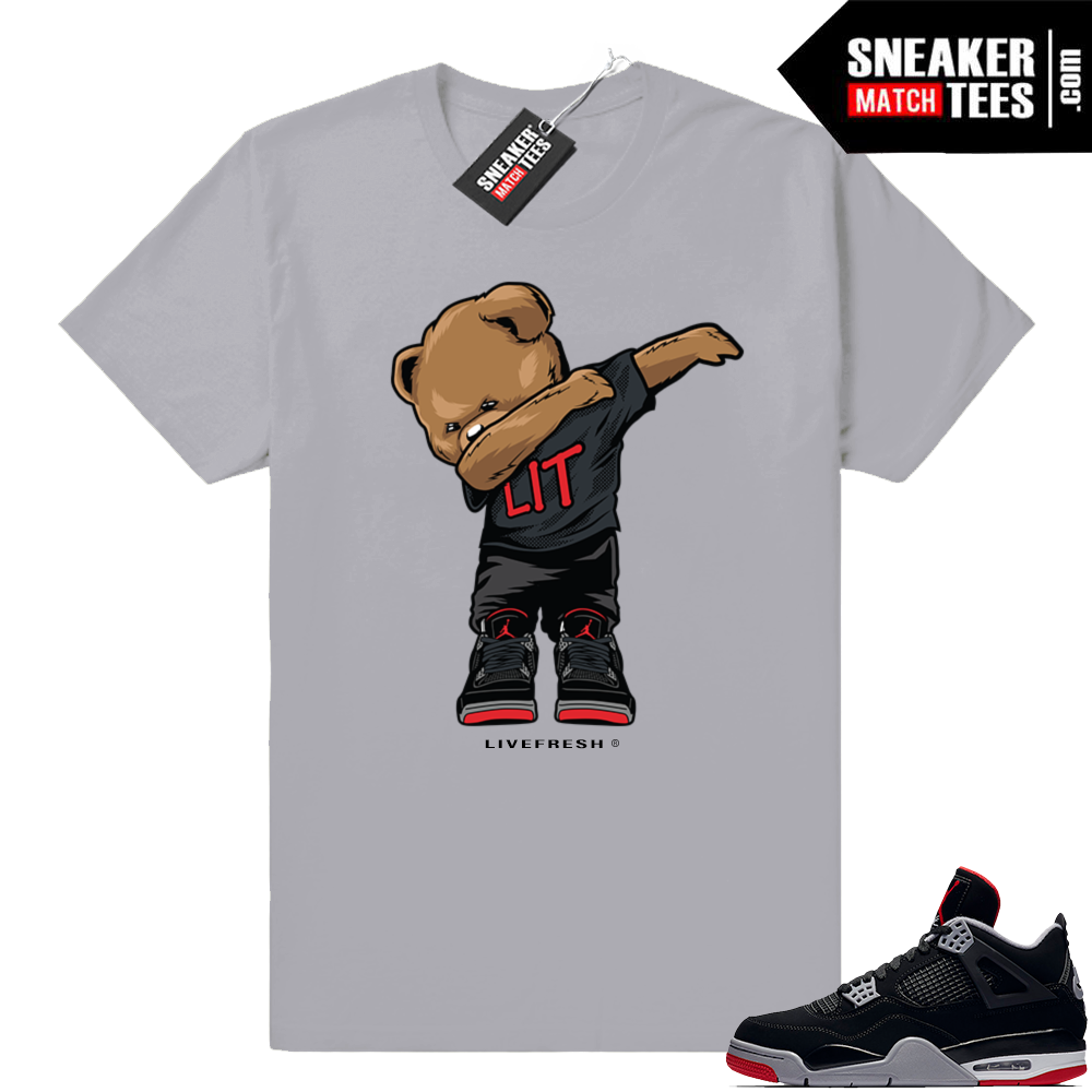 Jordan retro 4 Bred Clothing