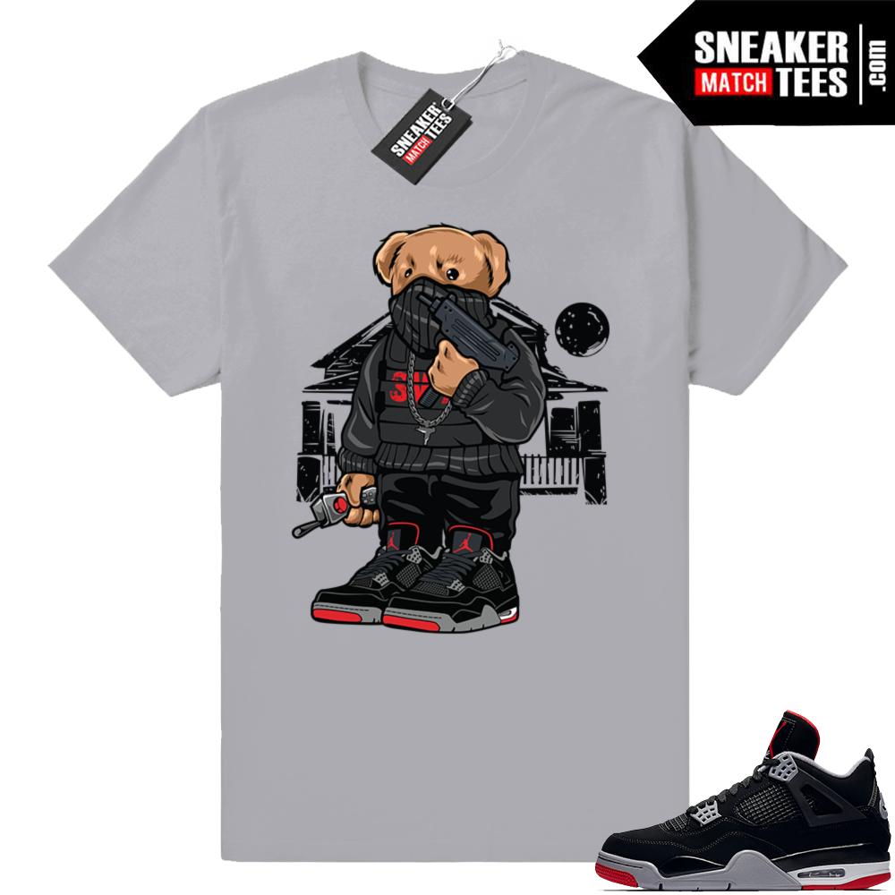 Jordan retro 4 sneaker tees match