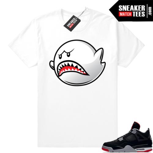 Jordan shirt Bred 4s match