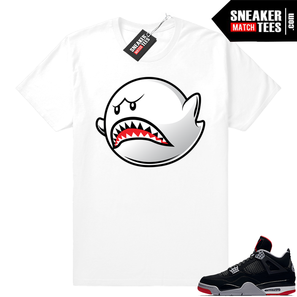 Jordan shirt Bred 4s match
