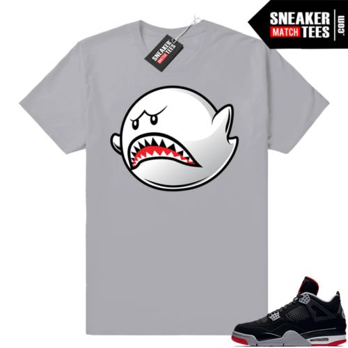 Match Sneakers Bred 4 Jordans