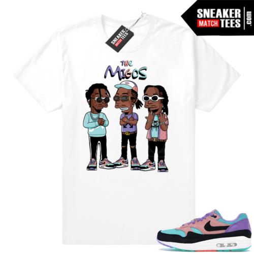 Nike Air Max sneaker tees
