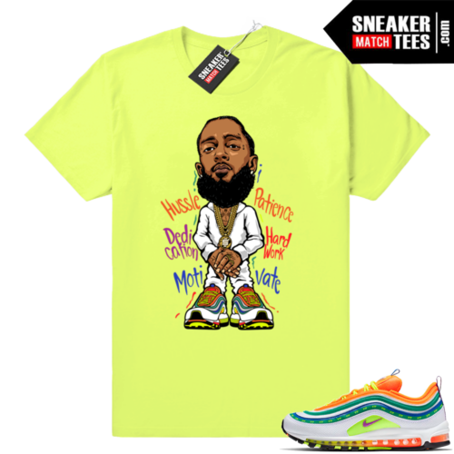 Nipsey Hussle Air Max 97 London Summer of Love Volt