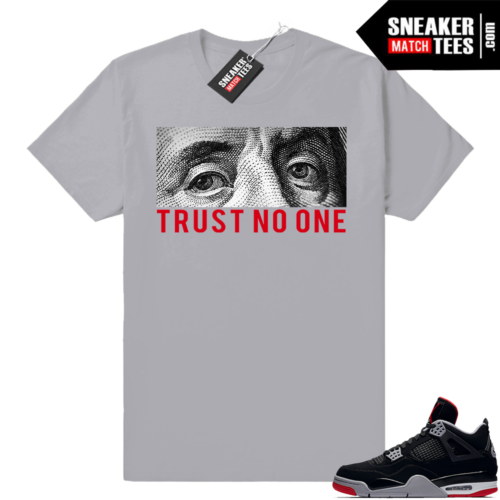 Retro 4 Bred Sneaker tees