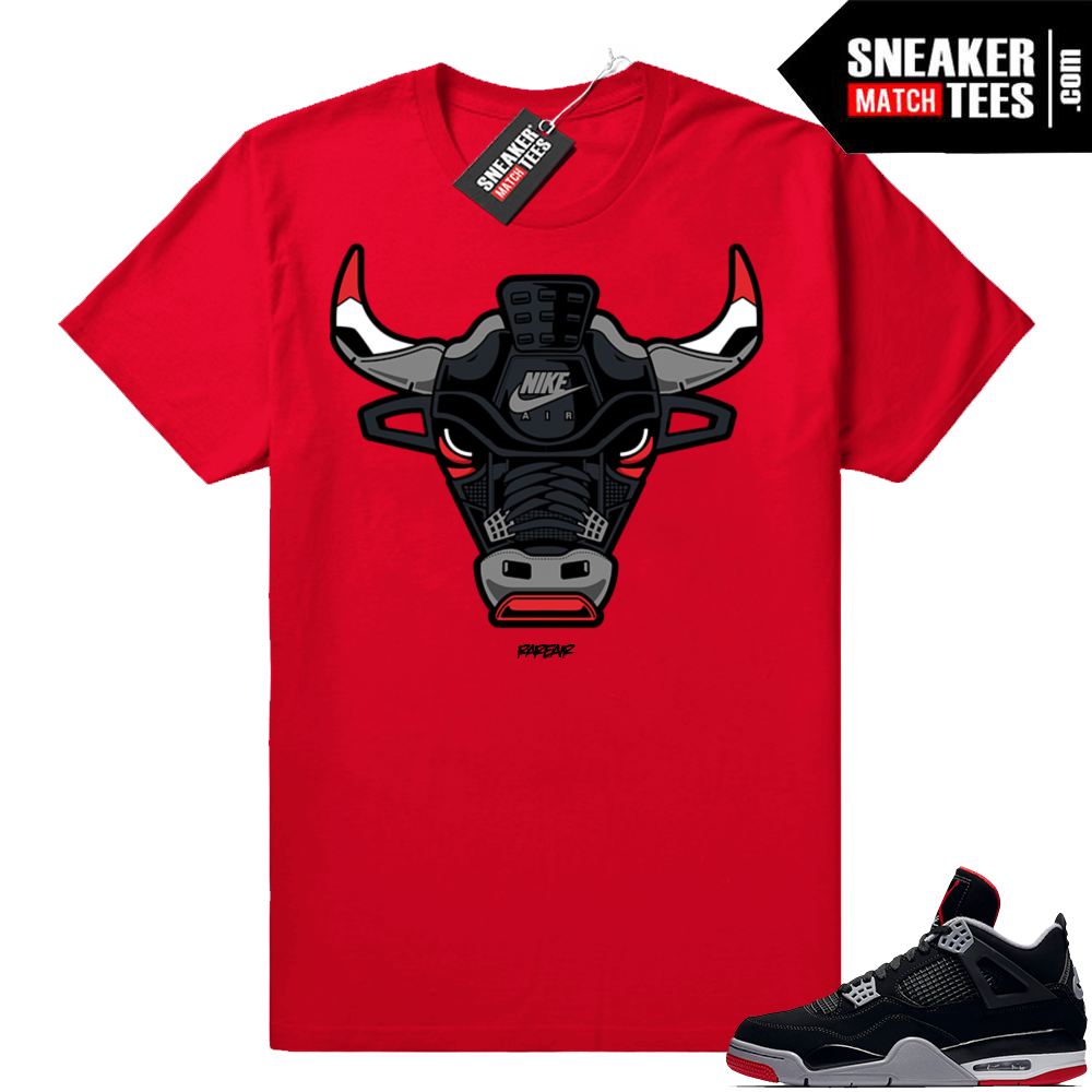 Retro 4 Jordan match tees