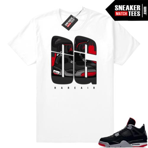 Retro Jordan 4 Bred OG shirt