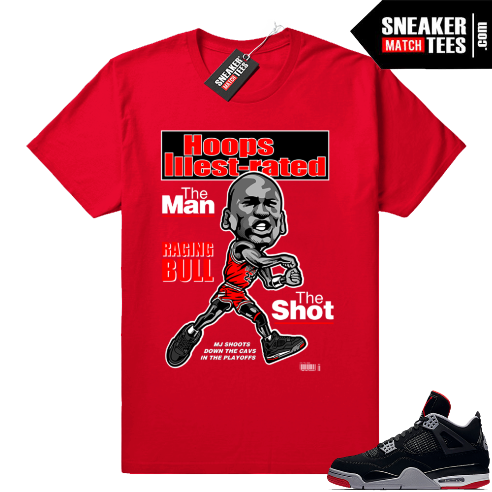 Shirt Bred 4s match