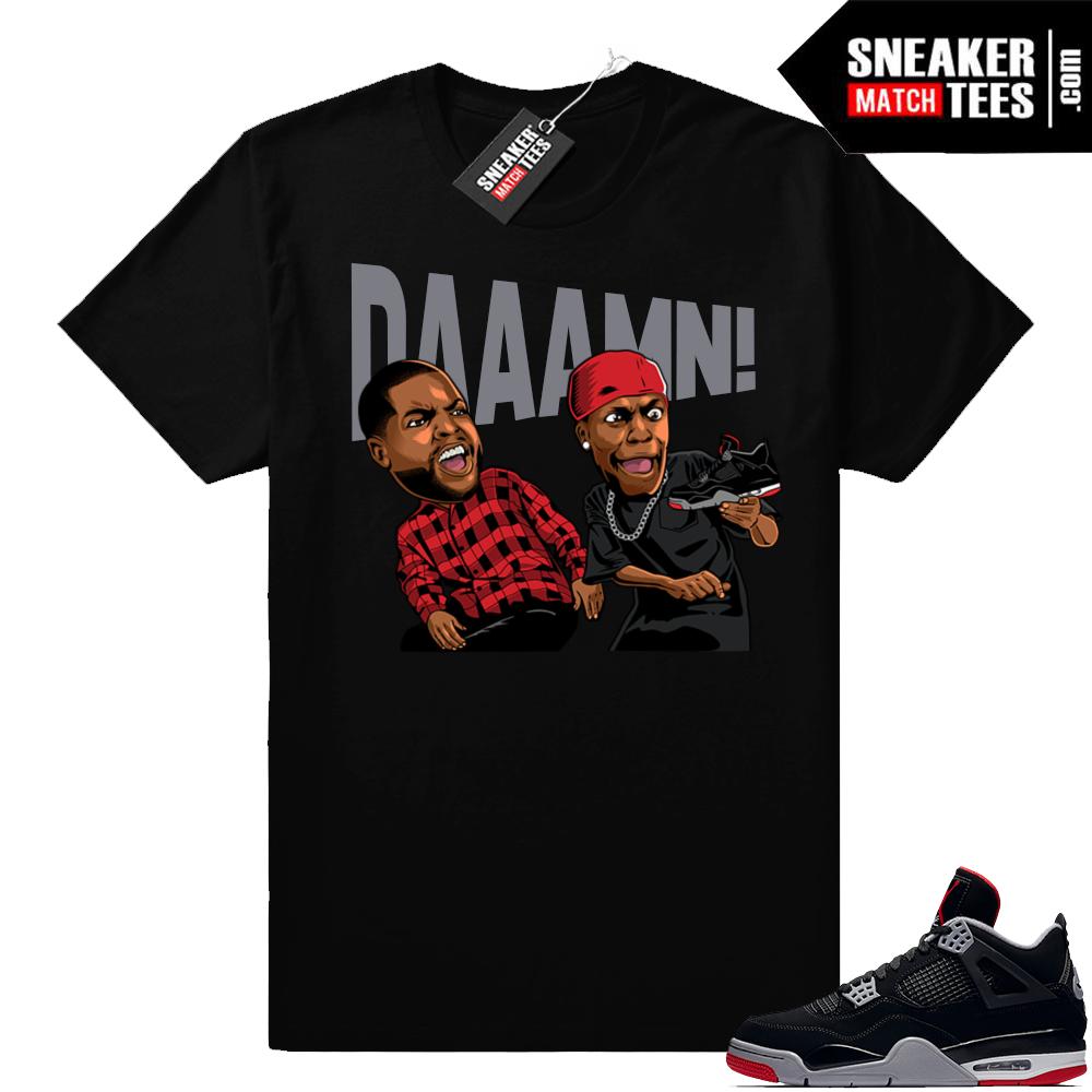Shirts Bred Jordan retro 4