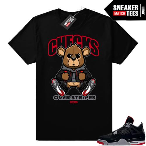 Shirts match Bred 4 Jordan retro