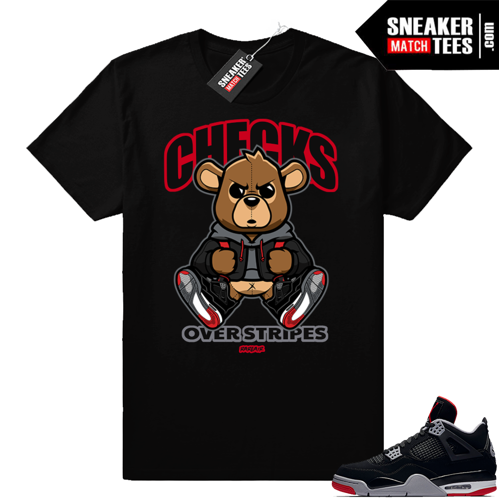 Shirts match Bred 4 Jordan retro