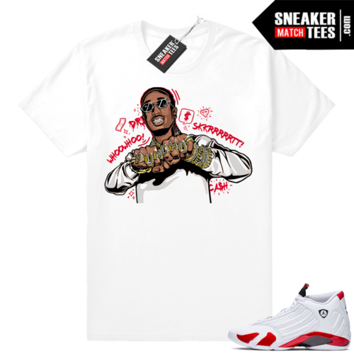 Shirts match Jordan 14 shoes