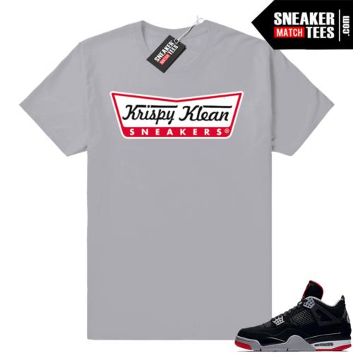 Shirts to match Bred 4 Jordans