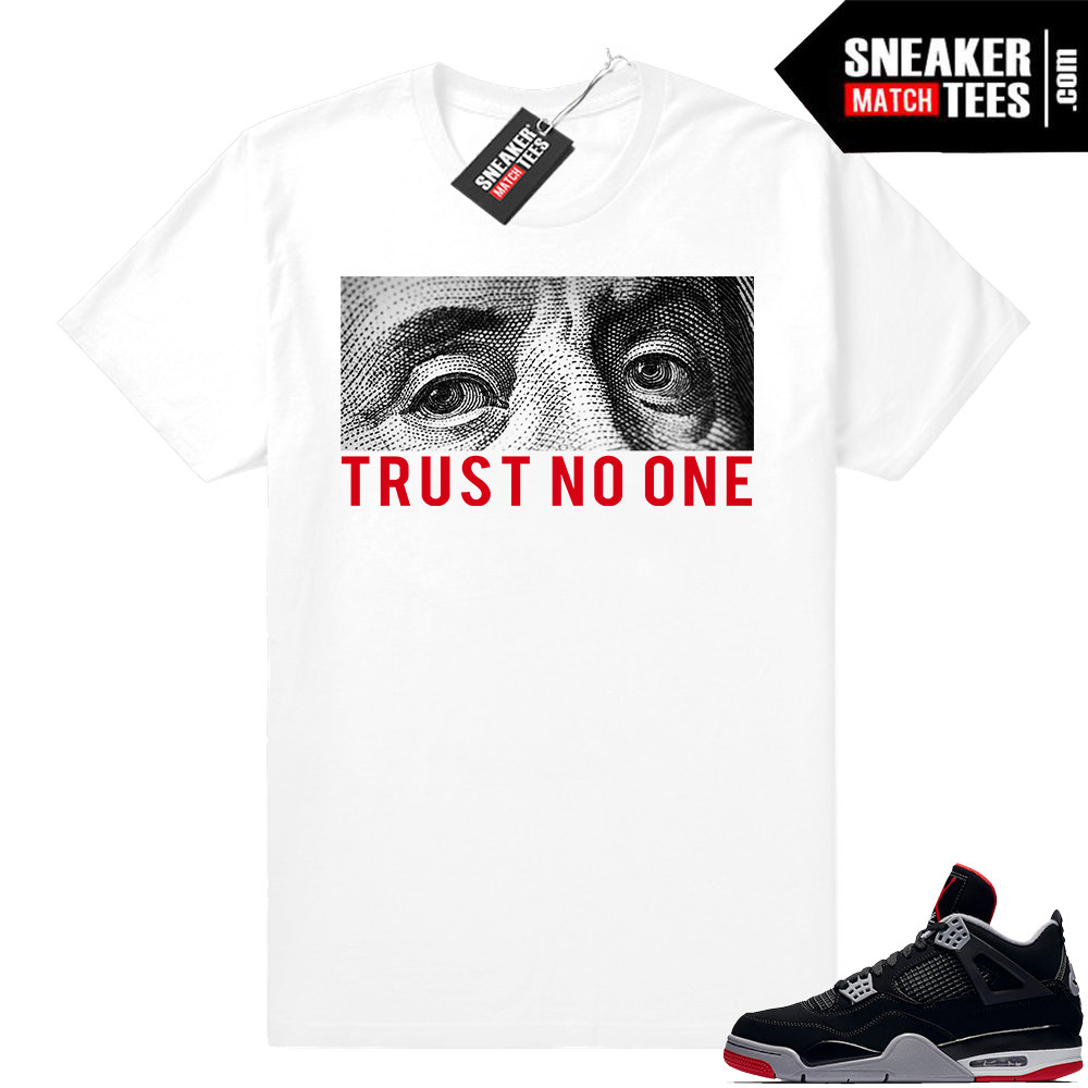 Shirts to match Bred 4 sneakers