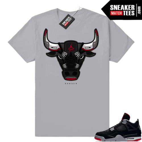 Sneaker Match Bred Jordan 4s