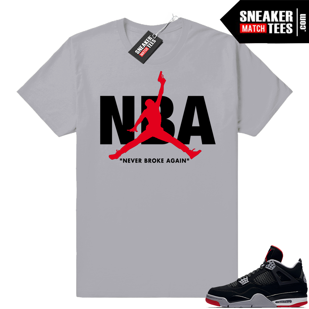 Sneaker Match Jordan 4 bred