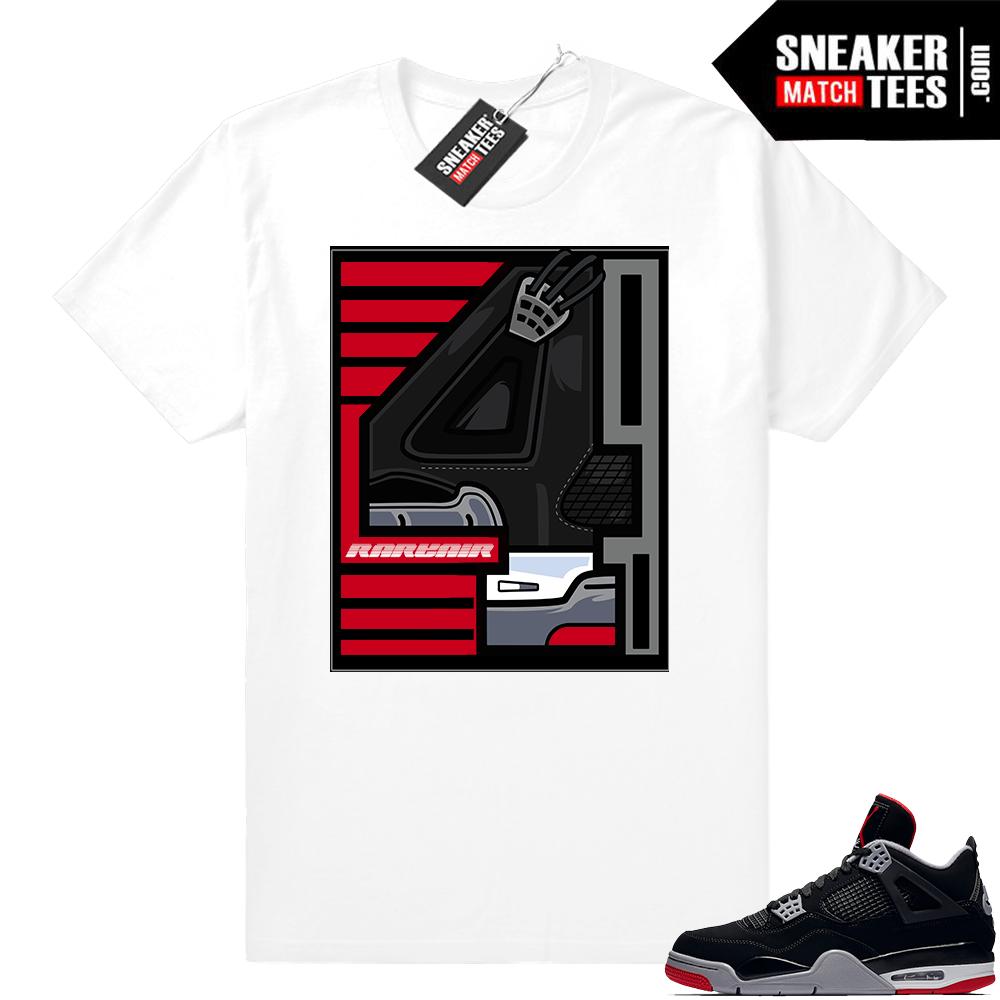 Sneaker Match Jordan Bred tees