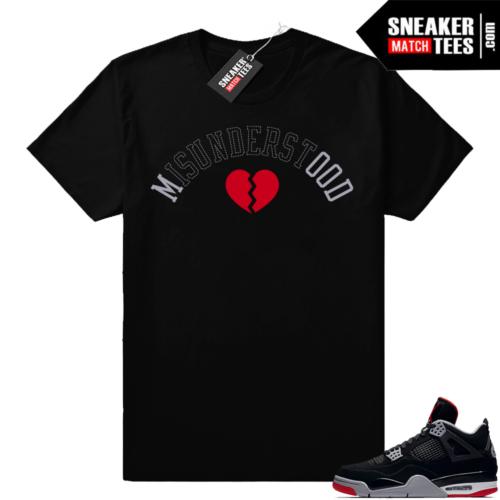 Sneaker Match Jordan bred 4s
