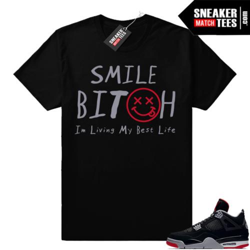 Sneaker Matching Jordan 4 tees