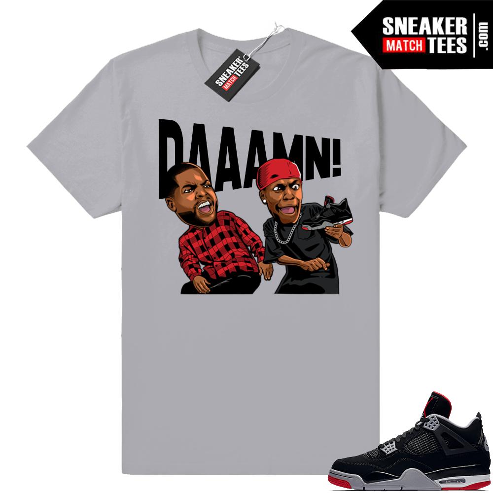 Sneaker tees Bred Jordan retro 4