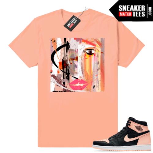 Sneaker tees Crimson Tint Jordan 1s