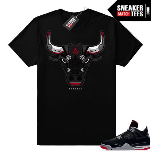 Sneaker tees Jordan 4 shoe match