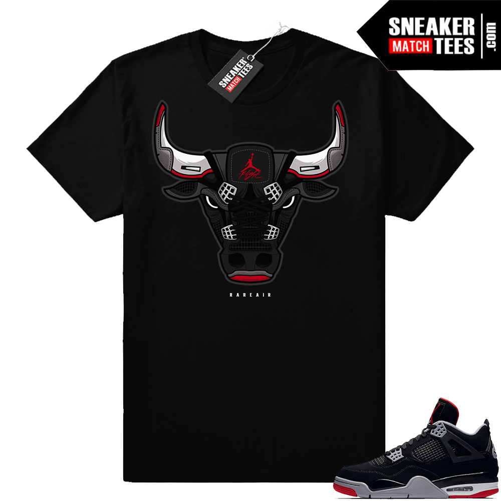 Sneaker tees Jordan 4 shoe match