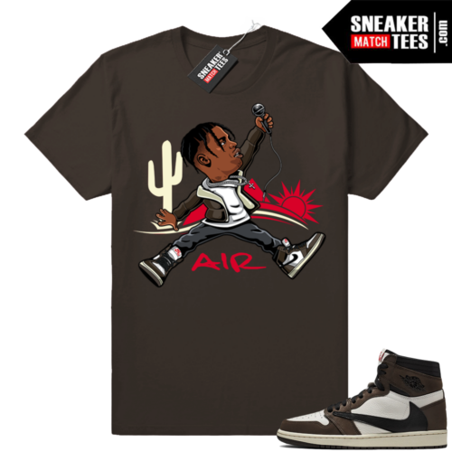 Air Jordan 1 Travis Scott Shirts