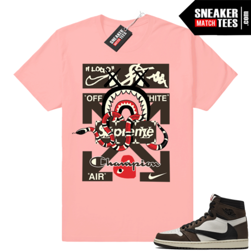 Air Jordan 1 Travis Scott Sneaker Match