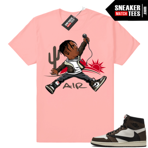 Air Jordan 1 Travis Scott shirt match