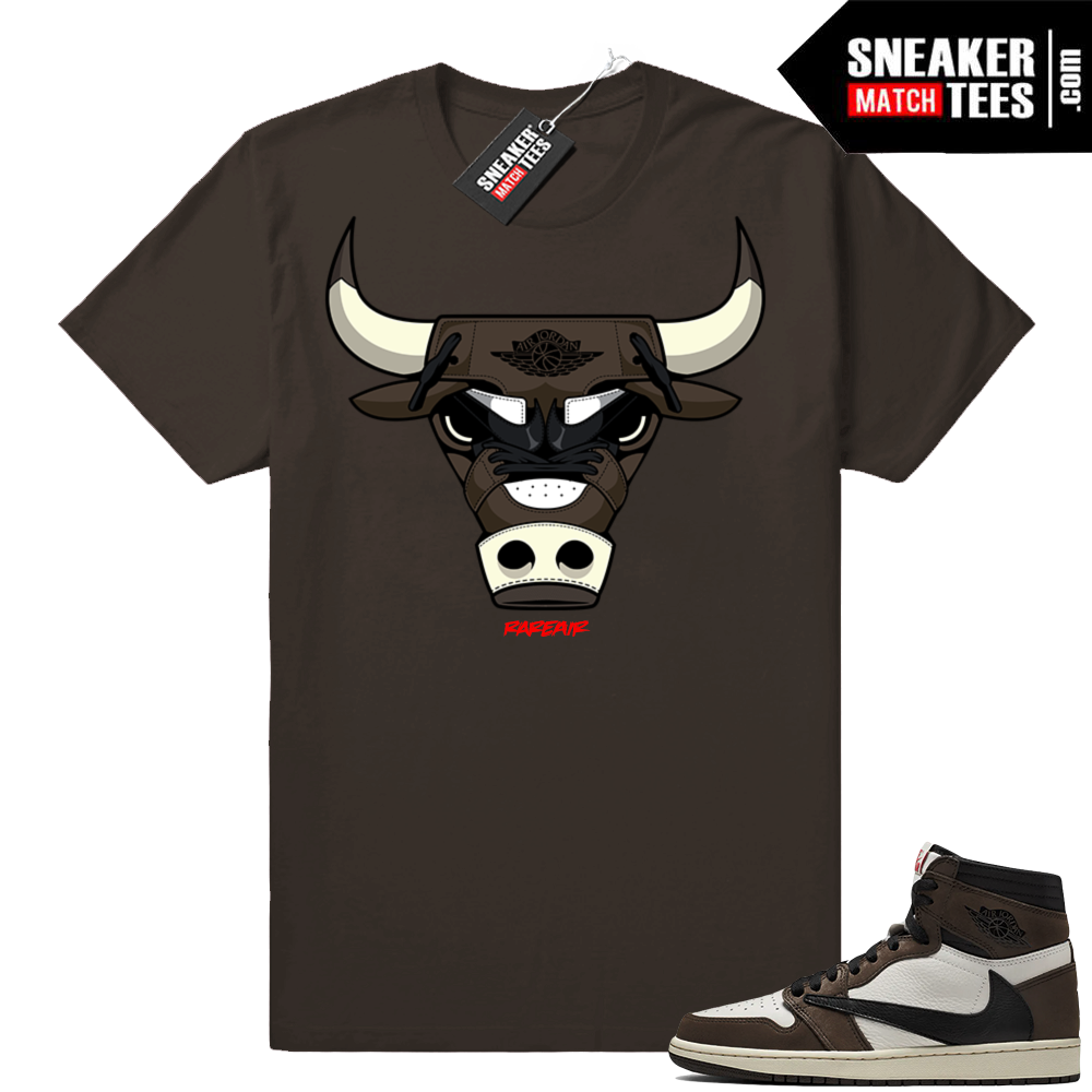 Air Jordan 1 Travis Scott sneaker tees