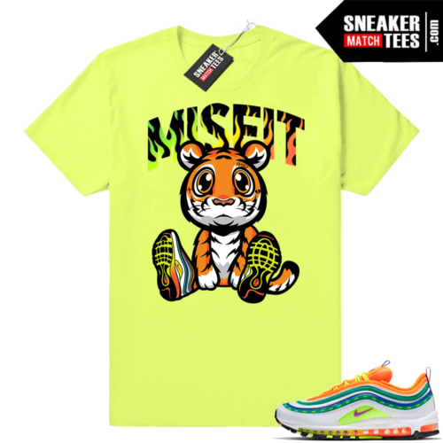 Air Max 97 London Summer Love Volt sneaker tees