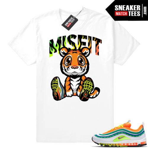 Air Max 97 London Summer Love sneaker tees