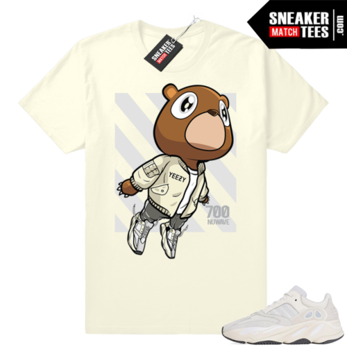 Analog Yeezys 700 shirts