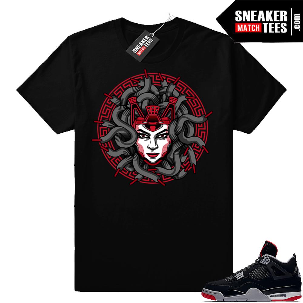 Bred 4 Medusa Shirt