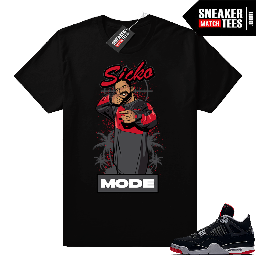 Bred 4 Sicko Mode tee