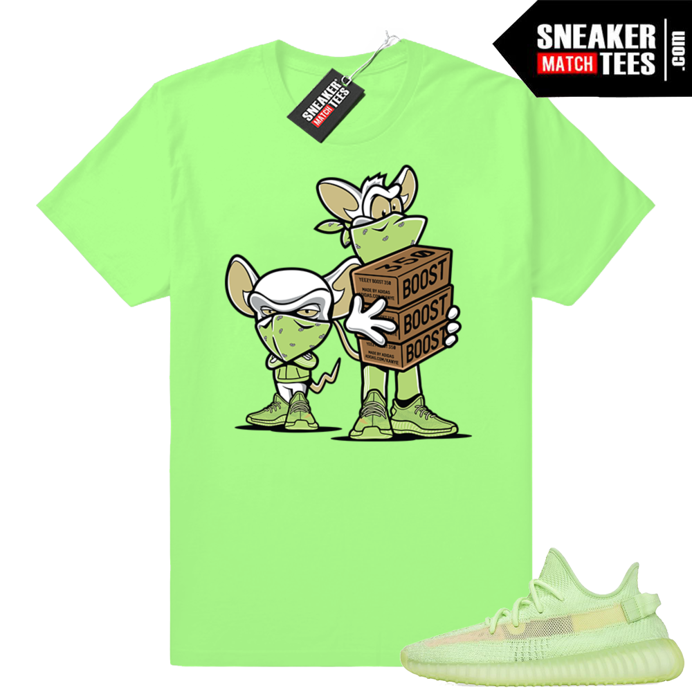Green Glow shirts Yeezy boost