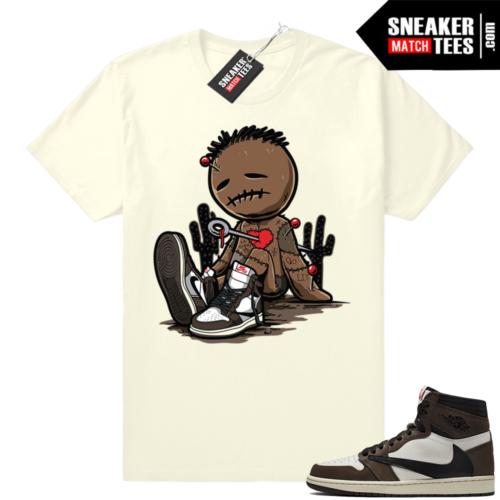 Jordan 1 Travis Scott sneaker tees