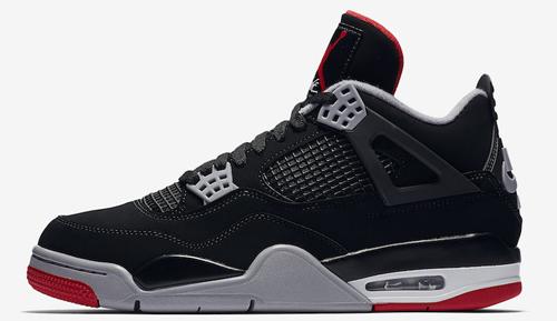 Jordan release May Jordan 4 Bred