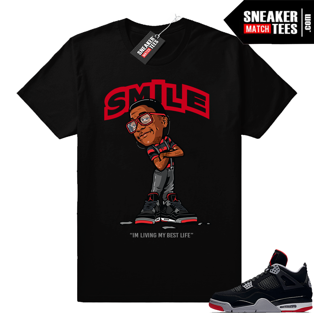 Shirts to match Air Jordan retro 4 sneakers