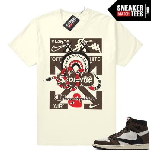 Sneaker Match Jordan 1 travis scott