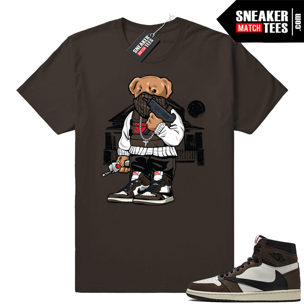 Sneaker Match Tees Travis Scott 1s