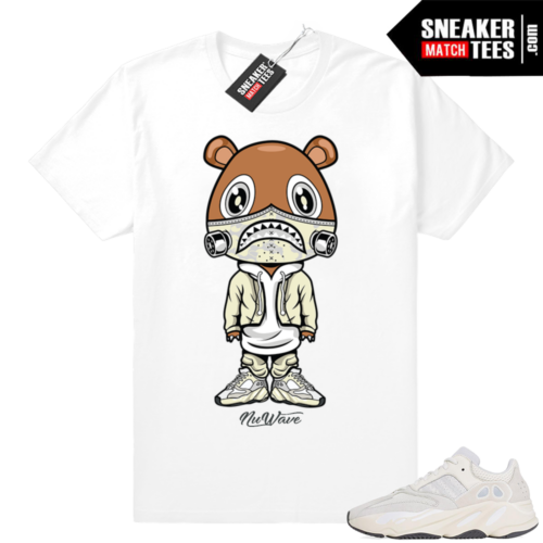 Sneaker tees match Yeezy Analog 700